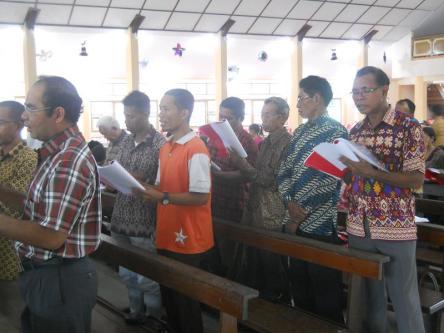 Natal Bersama Keluarga NTT di Bengkayang