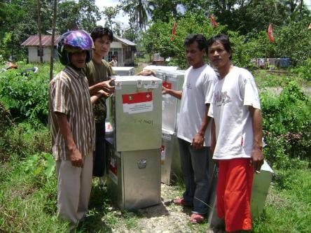 Distribusi Logistik Pada Pemilu 2009 yang lalu