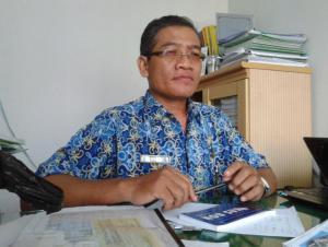 Sekretaris BPKPP Bengkayang, Danuri.