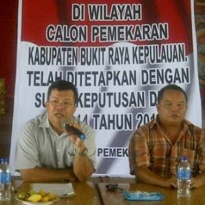 Yohanes Pasti, SH.,MH, Rawi : Pemekaran Kabupaten BRK