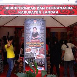 Salah satu stand dalam ajang Landak Expo 2014