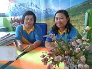 Roslin M.Pd dan Leonita Yuni, S.Pd